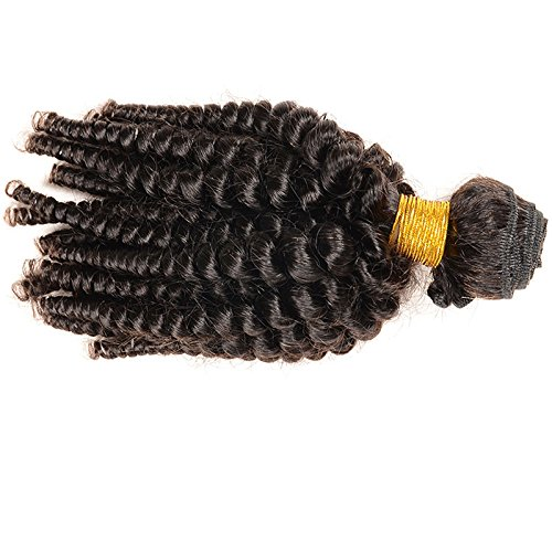 E-forest-hair-Weave-For-Women-7A-Virgin-100-Brazilian-Remy-Human-Hair-WeftWeave-Extension-Kinky-Curly-Natural-Black-3-Bundles-300g-WF-01-Size-10-10-10