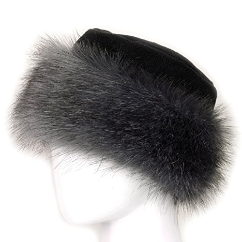 db010948541 Futrzane Faux Fake Fur Hat with Fleece Russian Cossack Winter Ladies Women  (S
