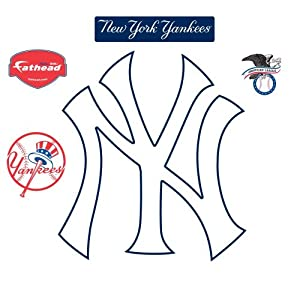 Fathead New York Yankees NY Logo Wall Decal