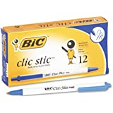 BICCSM11BE - Clic Stic Retractable Ballpoint Pen