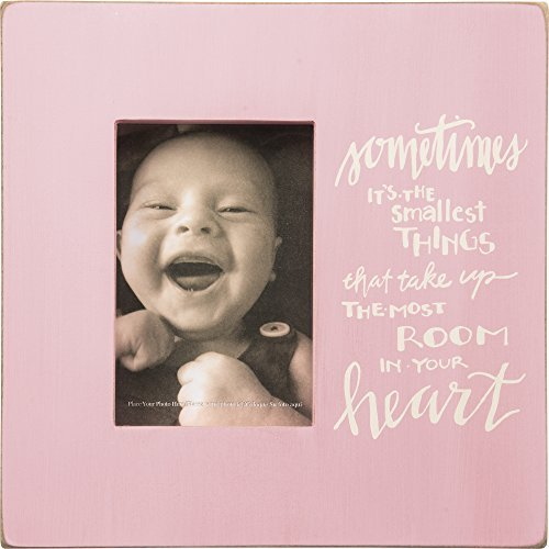 Primitives by Kathy Your Heart Box Frame in Pink - 1