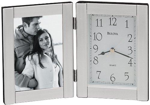 Bulova Forte II Picture Frame Clock (Clock Frame compare prices)