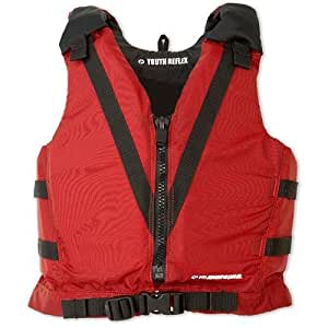 MTI Youth Reflex Type III Life Jacket (Red)
