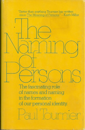 The naming of persons PDF