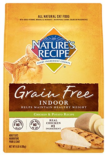 Nature's Recipe Grain Free Indoor Chicken And Potato Recipe