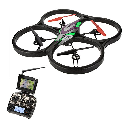 Original WLtoys Upgrade V666N 4CH 6 Axis 5.8G RTF FPV Quadcopter with 2.0MP HD Camera & Barometer Set Height and...