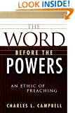 The Word Before the Powers: An Ethic of Preaching