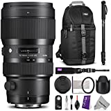 Sigma 693954 50-100mm f1.8 DC HSM Standard Zoom Lens for CANON DSLR Cameras w/ Advanced Photo and Travel Bundle