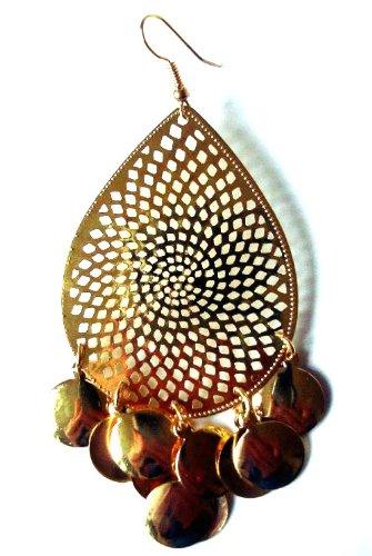 Gold Gypsy Runway Earrings
