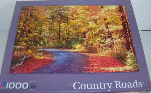 Country Roads Morton Arboretum Road 1000 Piece Puzzle by Surelox