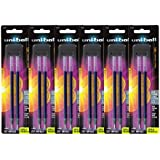 Uni-Ball Gel Impact Stick Pen Refills, Bold Point, Blue Ink, Pack of 12