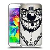 Head Case Designs Evil Clown Bandana Soft Gel Back Case Cover for Samsung Galaxy S5