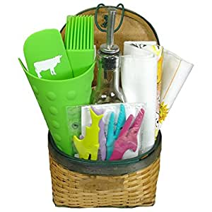 Kitchen And Home Themed Small Gift Basket Home Kitchen