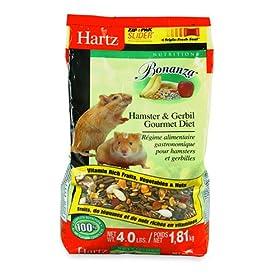 Hartz Bonanza Hamster & Gerbil Gourmet Diet 4-Pound Supply