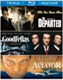 Martin Scorsese Triple Feature (Goodfellas / The Aviator / The Departed) [Blu-ray]