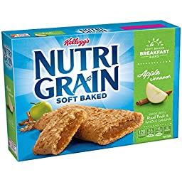 Kellogg\'s Nutri-Grain Cereal Bars - Apple Cinnamon - 1.3 oz - 8 ct (Pack of 1)