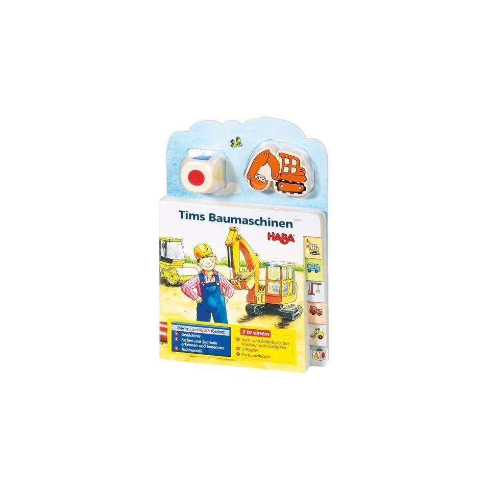 Haba 5307 Tims Baumaschinen Spielzeug