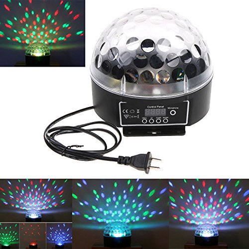 Mini Dmx Disco Dj Stage Lighting Led Rgb Crystal Magic Ball Effect Light