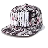 Kenmont hohe Art und Weise Hip-Hop Blume Baseballmützen Baseball Caps
