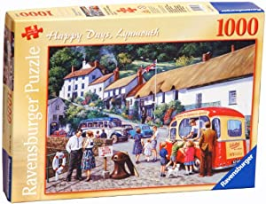 Ravensburger Happy Days Lynmouth 1000 piece jigsaw puzzle