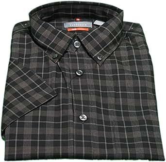 Van heusen men 39 s 3xl traveler short sleeve button down for Van heusen plaid shirts