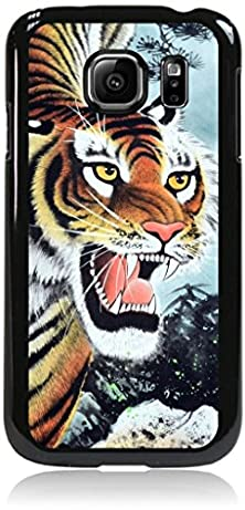 buy Fierce Tiger Painting - Case For The Samsung® Galaxy S6 Only (Not The S6 Edge)- Hard Black Plastic Snap On Case