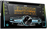 JVC KW-R920BTS Double DIN Bluetooth In-Dash Car Stereo Receiver w/ For Android & iPhone, SXM, Vario, 2 pre 4.8V and FLAC playback
