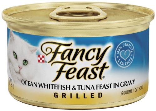 Fancy Feast Grilled Ocean Whitefish & Tuna Feast In Gravy