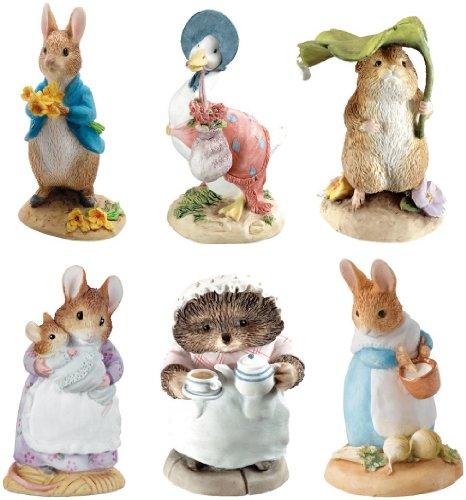 Beatrix Potter Miniature Figurine Collection - Starter Set Of 6 front-301650