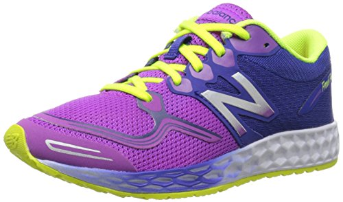 New Balance K1980 Fresh Foam Zante Running Shoe , Purple, 4