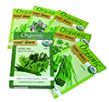 Ferry-Morse 3242 Organic Seed Collection, Herbs (4.82 Gram Packet)