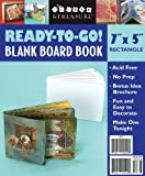 Ready to Go Blank Board Book White