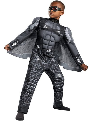 Captain America: Falcon Muscle Kids Costume