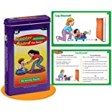 Scooter Board Activities Fun Deck Cards - Super Duper Educational Learning Toy for Kids