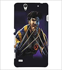 SONY XPERIA C4 CARTOON CHARACTER Designer Back Cover Case By PRINTSWAG