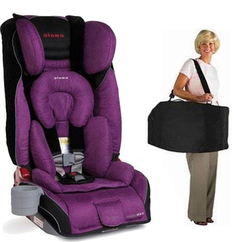 Diono Radian RXT Car Seat with Free Carrying Case - Plum