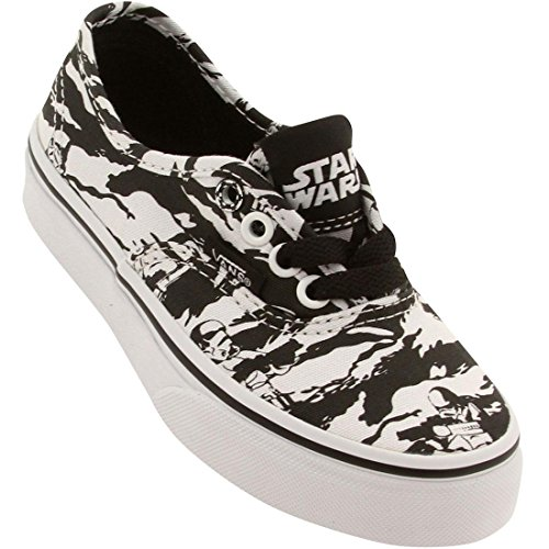 bfd23f5dd5 Vans Kids Authentic Star Wars Skate Shoes-Darkside Storm Camo