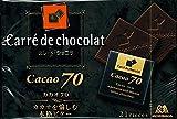 森永 カレ・ド・ショコラ<カカオ70>21枚×6個