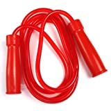 SR-2 Twins Special Heavy Jump Skipping Rope (Red)