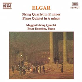 Elgar: String Quartet in E Minor / Piano Quintet in A Minor