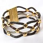 Tri-Tone Mesh Bracelet
