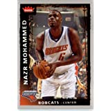 2008 2009 Fleer Basketball Card # 81 Nazr Mohammed Bobcats Mint Condition - Shipped... by Fleer