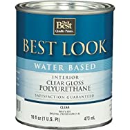 - W64V00801-13 Best Look Water-Based Polyurethane-INT W/B GLS POLYURETHANE