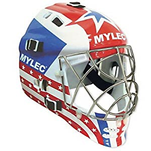 (Price PR)Mylec Ultra Pro II Goalie Mask-Patriot - Patriot by Mylec