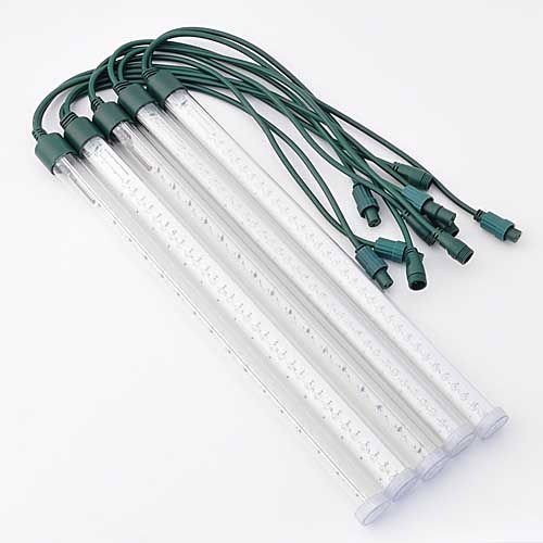 Set of 5 Tubes 64 Leds Double Shine 19.7 Inch