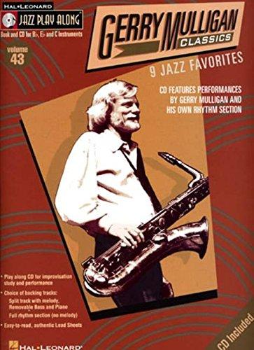 Gerry Mulligan Classics: Jazz Play-Along Volume 43