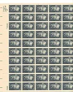 John Steinbeck Sheet of 50 x 15 Cent US Postage Stamps NEW Scot 1773