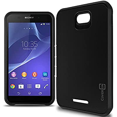 Maven / Overture 2 / Fanfare Case, CoverON® [Slim Guard Series] Slim Dual Layer Armor Hard Cover Thin TPU Phone Case For ZTE Maven / Overture 2 / Fanfare by CoverON
