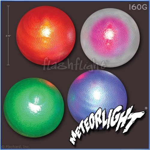 Nite Ize FlashFlight Meteorlight Light-Up Blue Dog Ball