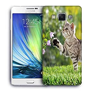 Snoogg Cat Playing Designer Protective Phone Back Case Cover For Samsung Galaxy ON5